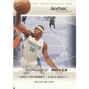 2004-05 Skybox Autographics Carmelo Anthony Signature Moves