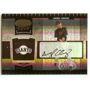 2004 Leaf Certified Cuts Angel Chavez Autograph 459/499