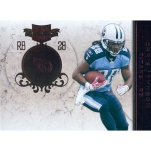 2011 Panini Plates & Patches Chris Johnson Base Single Red 221/299