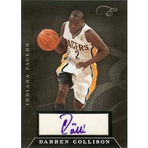 2010-11 Panini Elite Black Box Darren Collison Status Auto 140/149