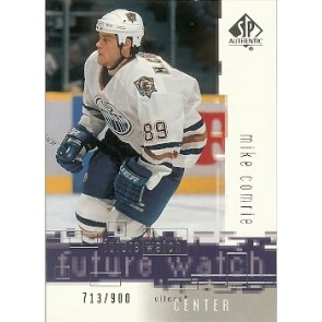 2000-01 Upper Deck SP Authentic Mike Comrie Future Watch 713/900