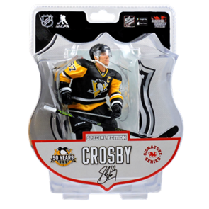 "2016-17 Sidney Crosby Signature Series 6"" Action Figure - IN STOCK"