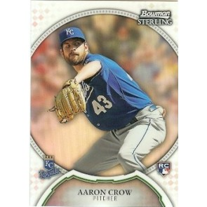 2011 Bowman Sterling Aaron Crow 173/199 RC