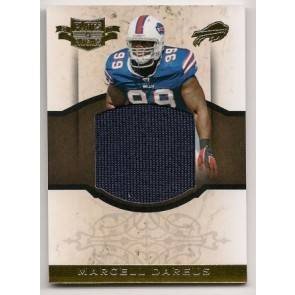 2011 Panini Plates & Patches Marcell Dareus Oversized Game Memorabilia 03/50