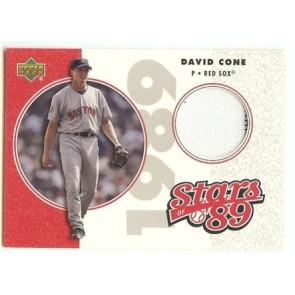 2005 Upper Deck David Cone Game Used Memorabilia