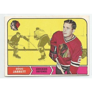 1968-69 O-Pee-Chee OPC Set Break #13 DOUG JARRETT VG+-EX Chicago Black Hawks