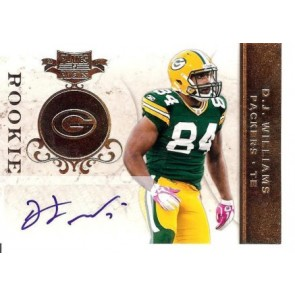 2011 Panini Plates & Patches D.J. Williams Rookie Autograph 054/183