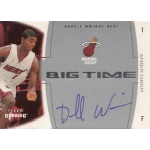 2004-05 Fleer Genuine Dorell Wright Big Time Autograph