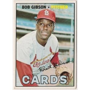 1967 Topps Bob Gibson Single Condition Good - VG