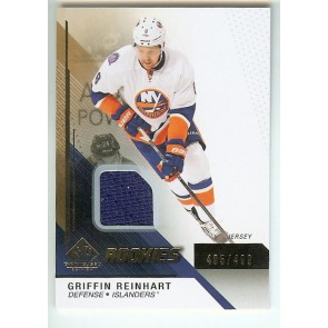 2014-15 SP Game Used Griffin Reinhart Rookies Jersey #'d 495/499