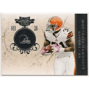 2011 Panini Plates & Patches Montario Hardesty Base Single Silver 031/100