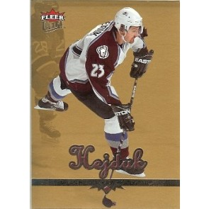 2004-05 Fleer Ultra Milan Hejduk Gold Medallion