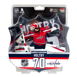 "2017 BRADEN HOLTBY 6"" Action Figure - Washington Capitals 2000 Produced"