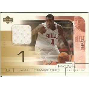 2004-05 Upper Deck Pros & Prospects Jamal Crawford Game Jersey 23/75