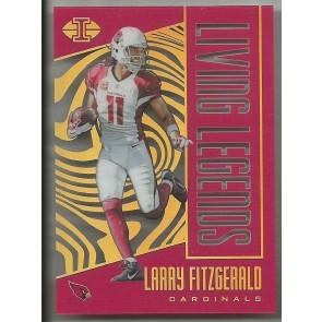 2017 Illusions Living Legends #4 Larry Fitzgerald