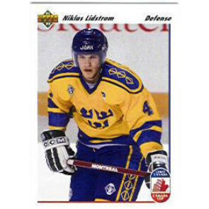 1991-92 Upper Deck Nicklas Lidstrom Rookie