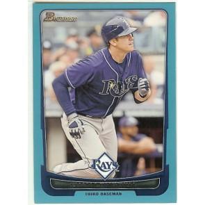 2012 Bowman Blue #149 Evan Longoria Tampa Bay Rays 205/500