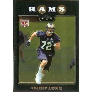 2008 Topps Chrome Chris Long Rookie