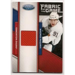 2011-12 Panini Certified Magnus Paajarvi Fabric of the Game 021/399