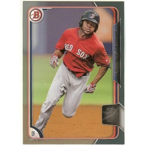2015 Bowman Draft Silver Manuel Margot Card #38  /499 Boston Red Sox
