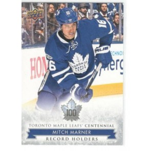 2017-18 Upper Deck Toronto Maple Leafs Centennial Mitch Marner 148 High Number SP