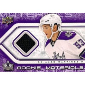 2009-10 Upper Deck Alex Martinez Rookie Materials Game Worn Jersey