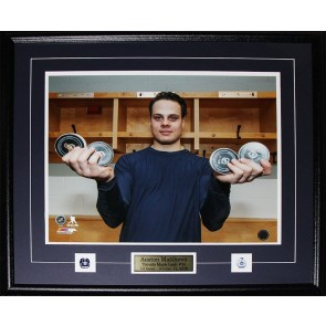 Auston Matthews 4 Goal Game Toronto Maple Leafs 8 x 10 Frame