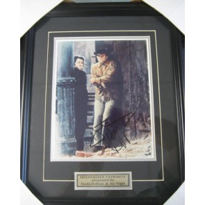"Dustin Hoffman Jon Voight ""MIdnight Cowboy"" Autograph Framed Picture"