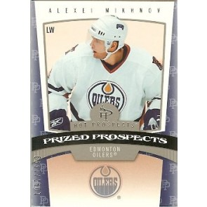 2006-07 Fleer Hot Prospects Alexei Mikhnov Prized Prospects Rookie 1097/1999