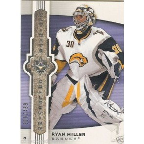2007-08 UD Ultimate Collection RYAN MILLER #d 360/499 Card # 56