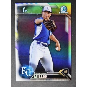 2016 Bowman Chrome ANDERSON MILLER Refractor 233/499 #BCP 184 ROYALS
