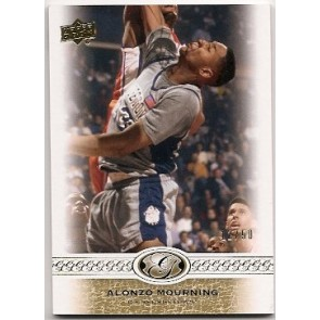 2010-11 Upper Deck All-Time Greats Alonzo Mourning Base Single 12/50