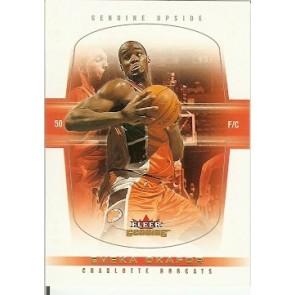 2004-05 Fleer Genuine Emeka Okafor Rookie Single 006/500