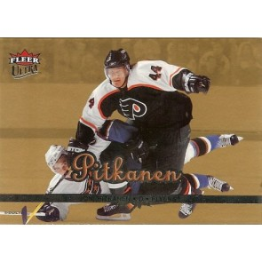 2004-05 Fleer Ultra Joni Pitkanen Gold Medallion