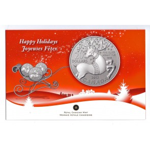 2012 Canadian Mint Limited Edition Magical Reindeer Canadian Coin $20 Silver .9999 Coin OZ