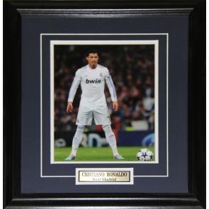 Cristiano Ronaldo Real Madrid 8x10 frame