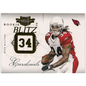 2011 Panini Plates & Patches Ryan Williams Rookie Blitz 147/249