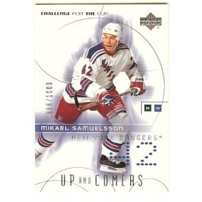 2002-03 Upper Deck Challenge for the Cup Mikael Samuelsson Up and Comers 0666/1000