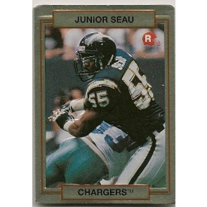 1990 Action Packed Junior Seau Rookie
