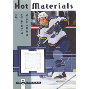 2005-06 Fleer Hot Prospects Lee Stempniak Hot Materials Game Worn Jersey