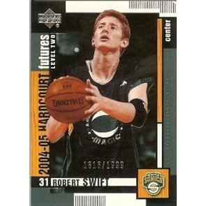 2004-05 Upper Deck Hardcourt Robert Swift Rookie 1816/1999