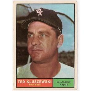 1965 Topps Ted Kluszewski Single Condition Good - VG
