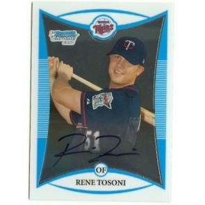 2008 Bowman Chrome Rene Tosoni Autograph Rookie