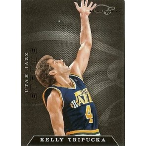 2010-11 Panini Elite Black Box Kelly Tripucka Status 56/99