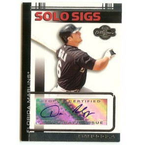 2007 Topps Co-Signers Dan Uggla Solo Sigs Autograph