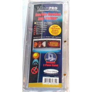 Ultra Pro Double Booklet Magnetic Card Display with Display Stand