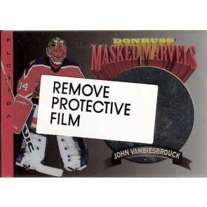 1994-95 Donruss Masked Marvels #10 John Vanbiesbrouck