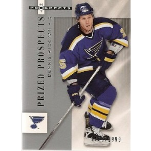 2005-06 Fleer Hot Prospects Dennis Wideman Prized Prospects Rookie 1738/1999