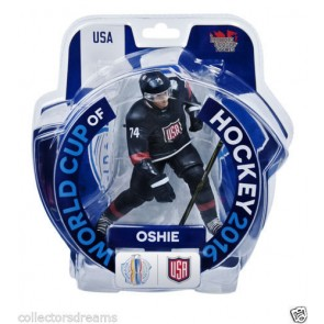 "2016 World Cup Of Hockey TJ Oshie Team USA  6"" Action Figure Limited 2400"