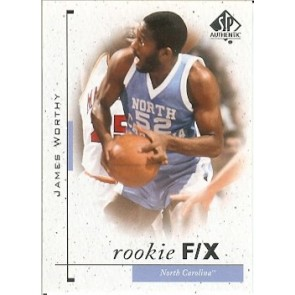 2011-12 SP Authentic James Worthy Rookie F/X SP